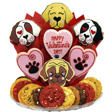 B507 - Valentine Puppies BouTray™