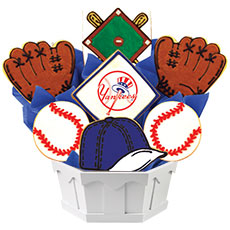 MLB1-NYY - MLB Bouquet - New York Yankees
