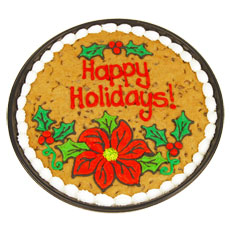 PC44 - Holiday Floral Cookie Cake