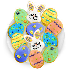 TRY42 - Easter Cookies Favor Tray