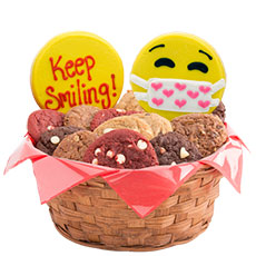 W511 - Keep Smiling Emojis Basket
