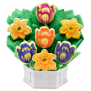 SPRING COOKIE BOUQUETS