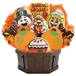 THANKSGIVING COOKIES & GIFT BASKETS