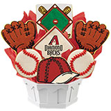 MLB1-ARZ - MLB Bouquet - Arizona Diamondbacks