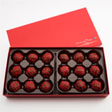 CBT181 - Chocolate Brownie Truffles -  18 Count