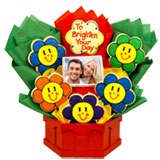 PH5 - Photo Cookies - Smiling Face Daisies